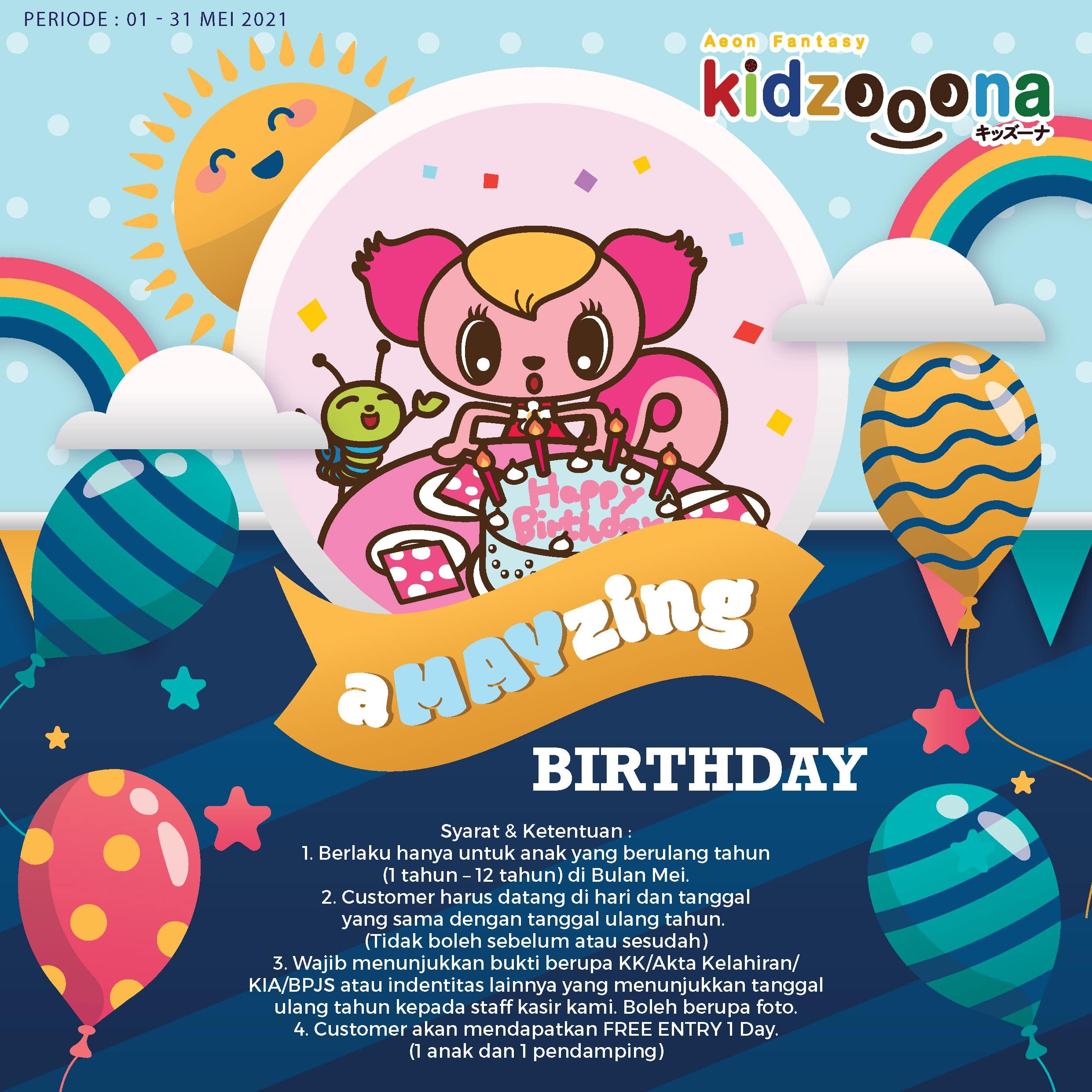aMAYzing Birthday