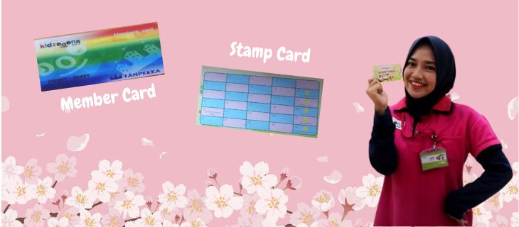 Stamp Card & Member Card kidzooona? Buat Apa Sih?