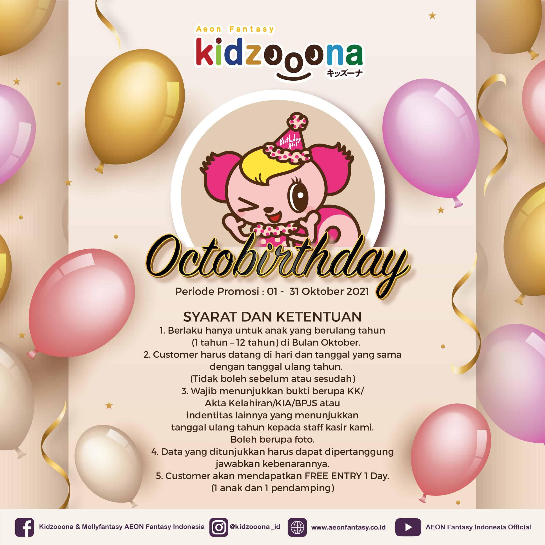 Octobirthday (Promo gratis bermain)
